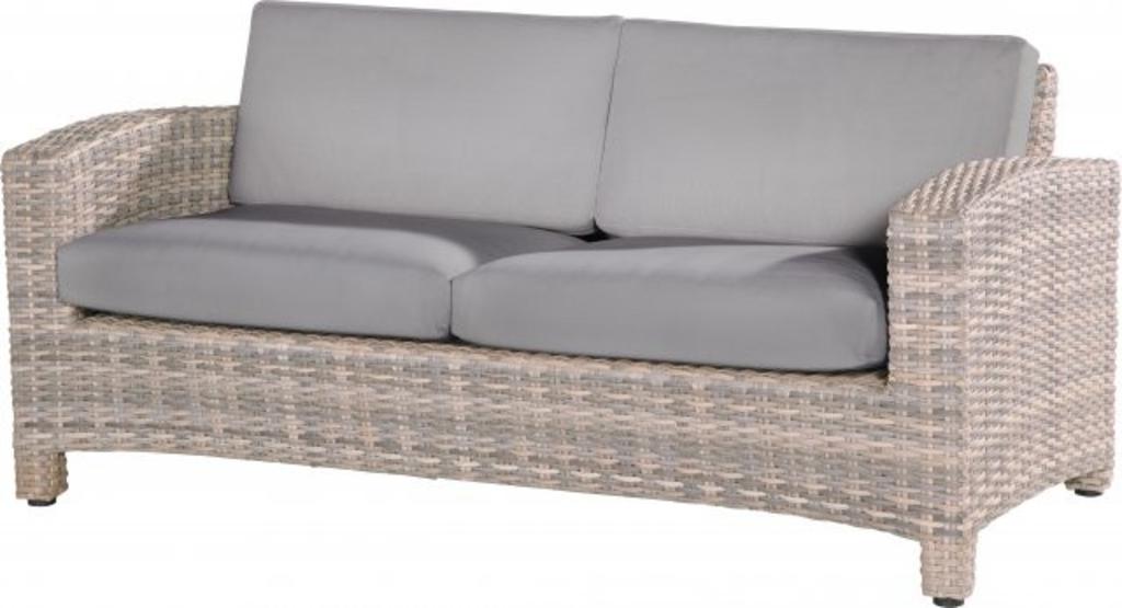 tuingerei 4 seasons outdoor mambo loungebank 2 5 zits met 4 kussens lagun van 4 seasons. Black Bedroom Furniture Sets. Home Design Ideas