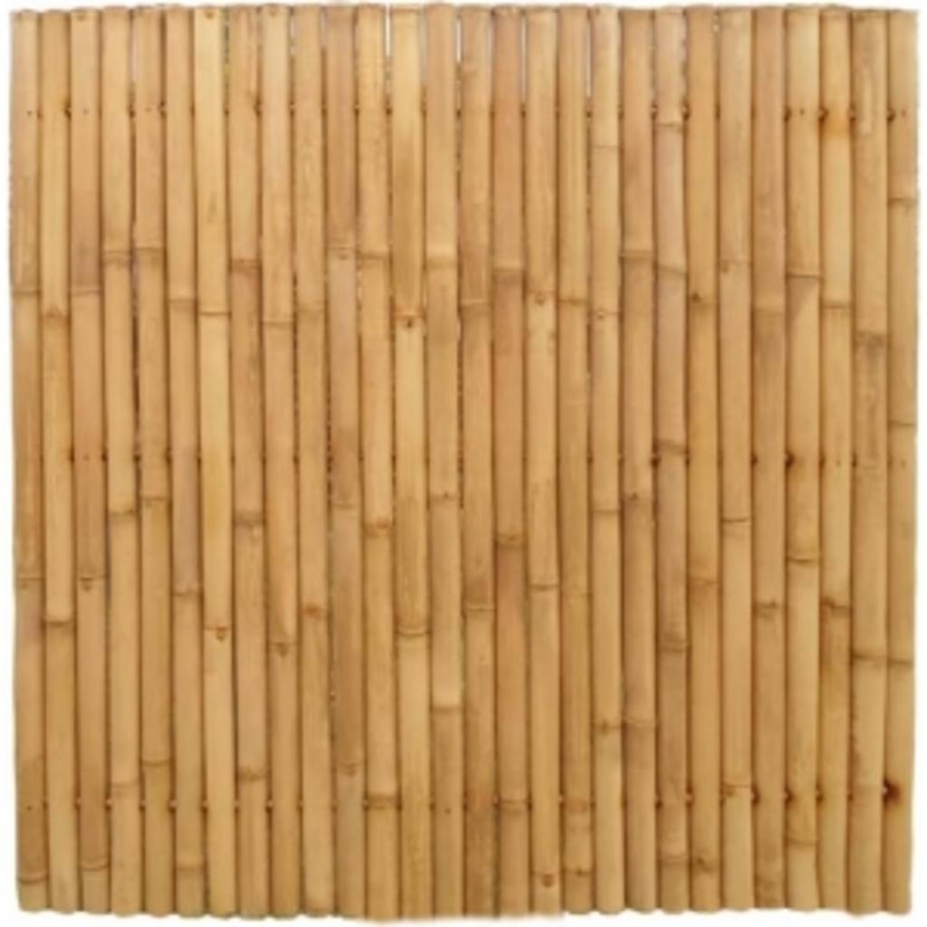 Tuingerei giant bamboe tuinscherm naturel van express tuinafscheiding - Winkel bamboe ...