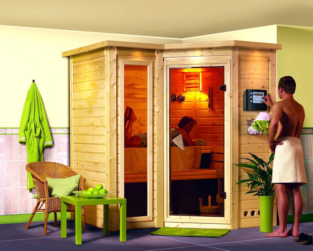 tuingerei karibu sauna sahib 2 met 9 kw bio. Black Bedroom Furniture Sets. Home Design Ideas