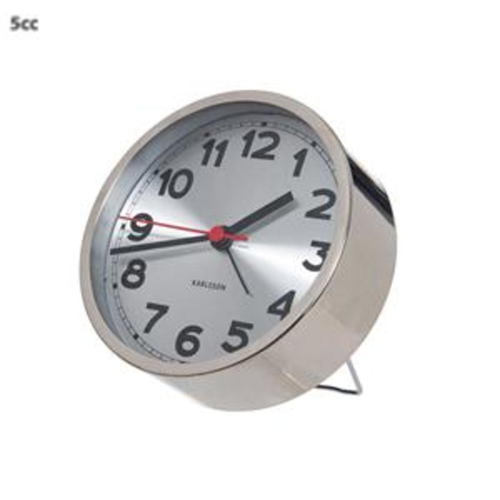 Tuingerei karlsson alarm klok numbers staal 10 cm diameter van karlsson misc - Klok cm ...