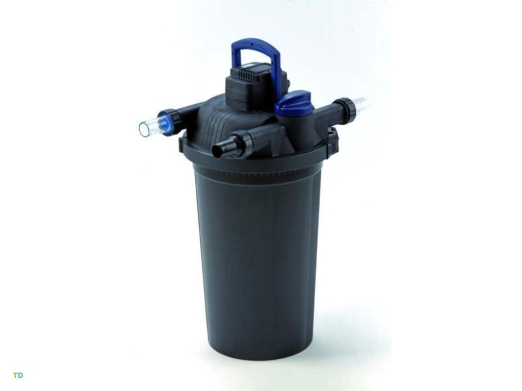 Tuingerei filtoclear drukfilter filtoclear 3000 van for Filter vijver schoonmaken