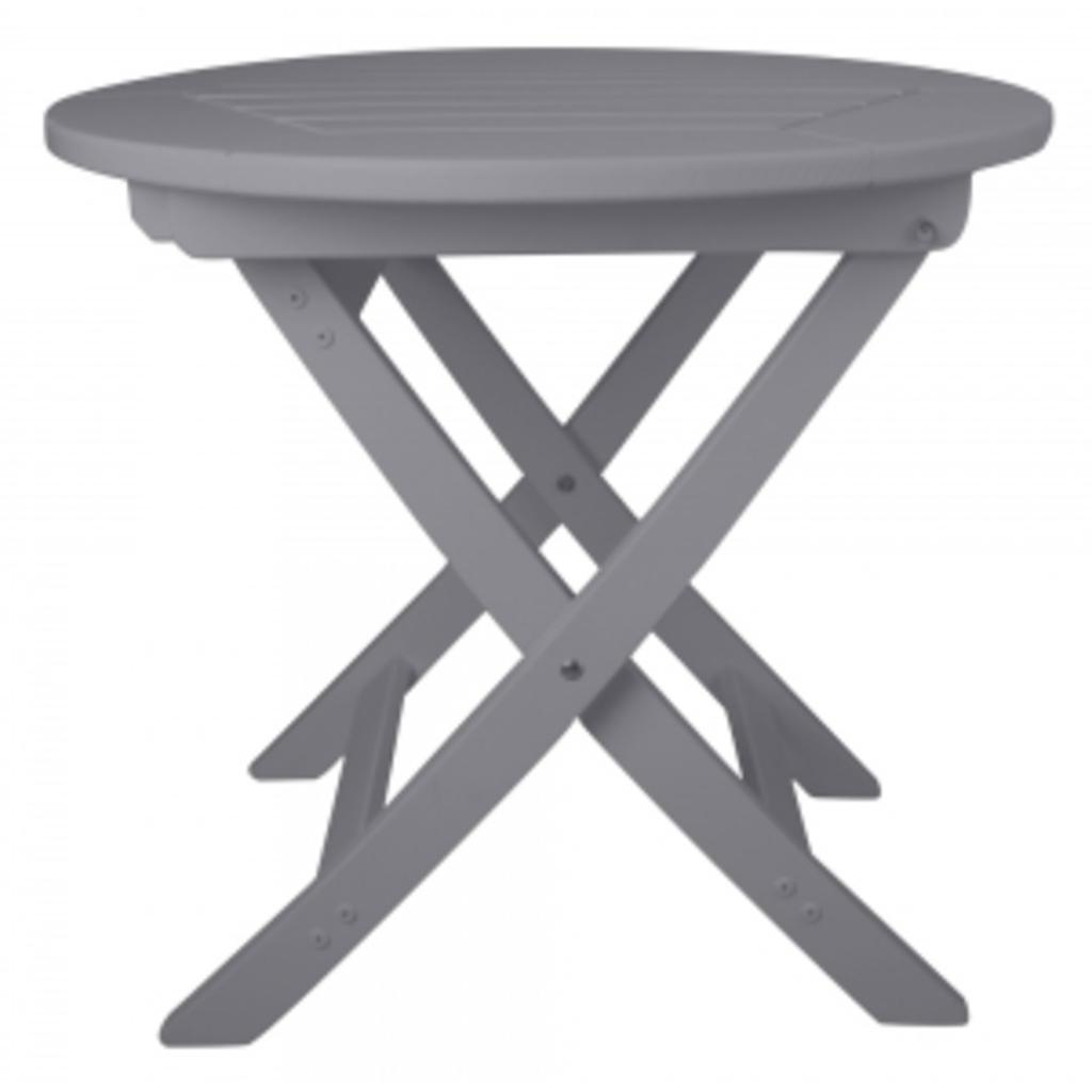 Tuingerei opklapbare tuintafel rond grijs van esschert design stoelen en tafels meubilair en - Meubilair van binnenkomst grijs ...