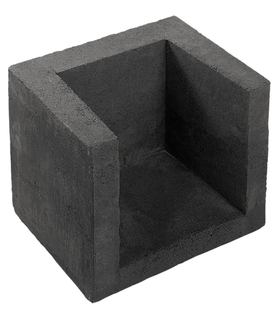 Tuingerei redsun l hoekelement 80x40x40 grijs van redsun sierbestrating - Meubilair van binnenkomst grijs ...