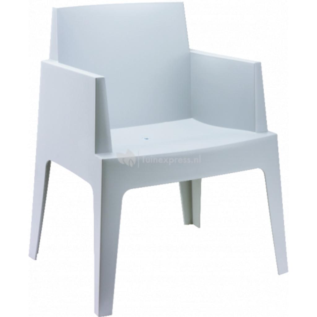 Tuingerei tuinstoel box licht grijs van express stoelen en tafels meubilair en kookgerei - Meubilair van binnenkomst grijs ...