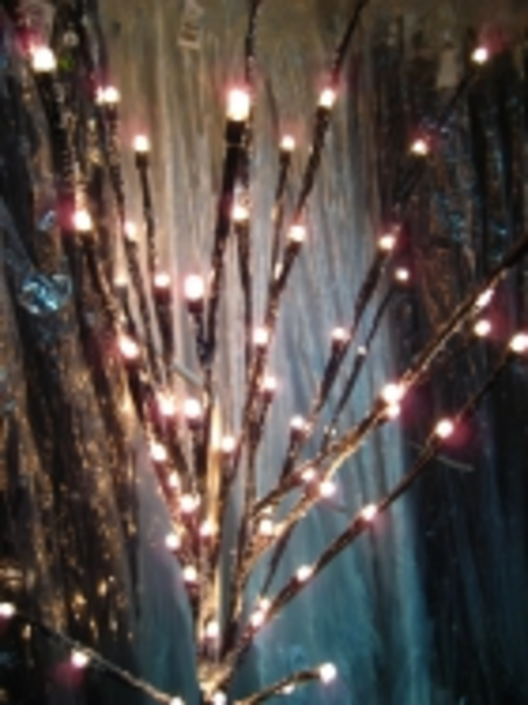 tuingoedkoop verlichte takken 70 lamps bruin voor binnen