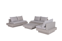 Garden Impressions Capetown Lounge Set (showroommodel) Wicker