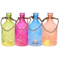 Led Bottle Glas 5led